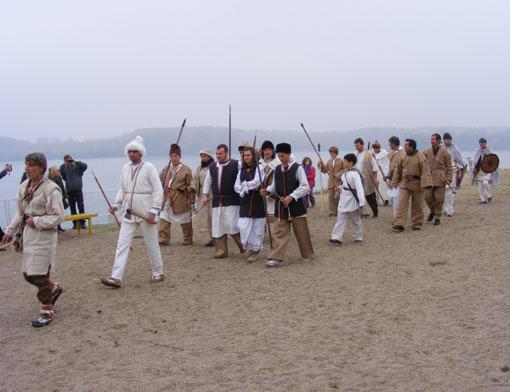 Посрещането на прабългарите от славяните в района на гр. Видин 2012