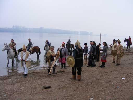 Посрещането на прабългарите от славяните в района на гр. Видин 2013