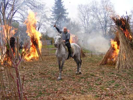 Посрещането на прабългарите от славяните в района на гр. Видин 2014